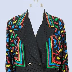 Adrianna Papell Tops - 1990s Vintage Adrianna Papell 100% Silk Blouse